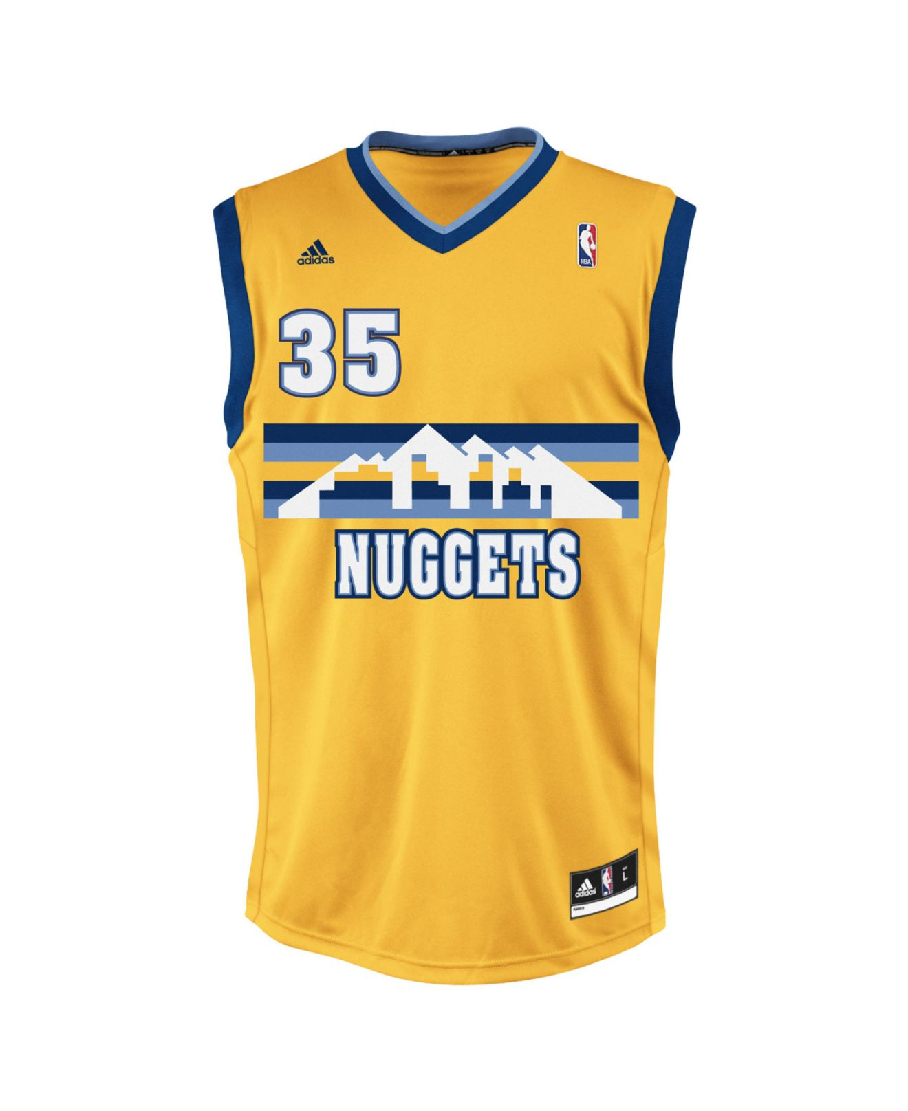 3c385a14c ... Adidas originals Mens Denver Nuggets Kenneth Faried Jersey i ...