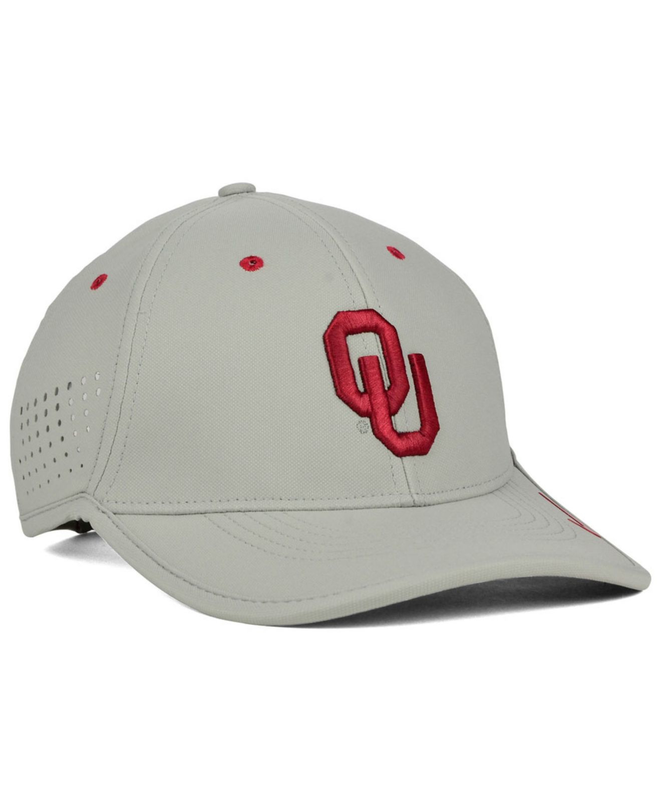 729d4f49beaa4 ... inexpensive lyst nike oklahoma sooners dri fit coaches cap in gray for  men 09b22 a2f78