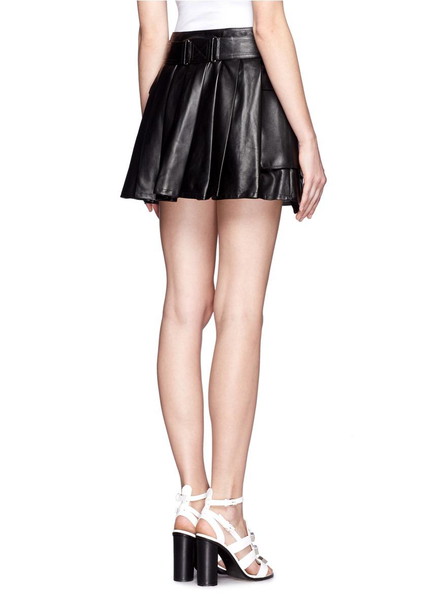 Belted Mini Skirt 102
