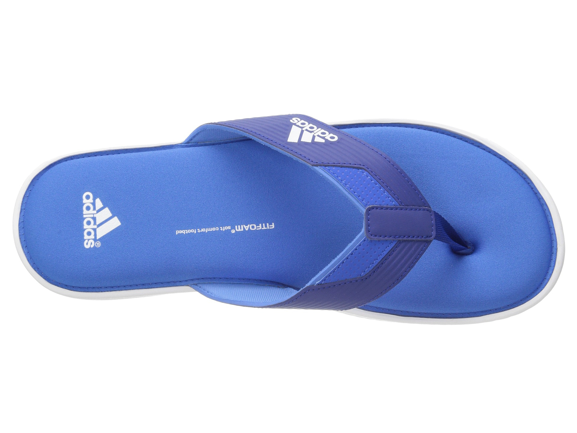 2453efe4dd43 Lyst - adidas Viveup Thong Ff in Blue for Men