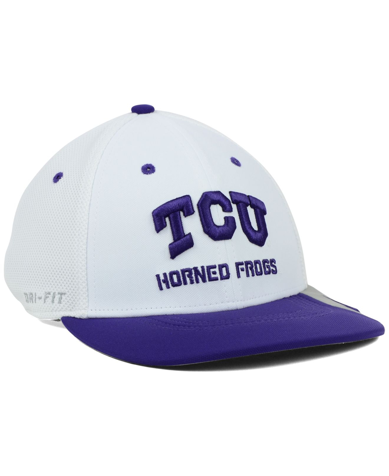 new products f959f ab192 ... coupon for lyst nike texas christian horned frogs conference swf cap in  white ec796 c5521