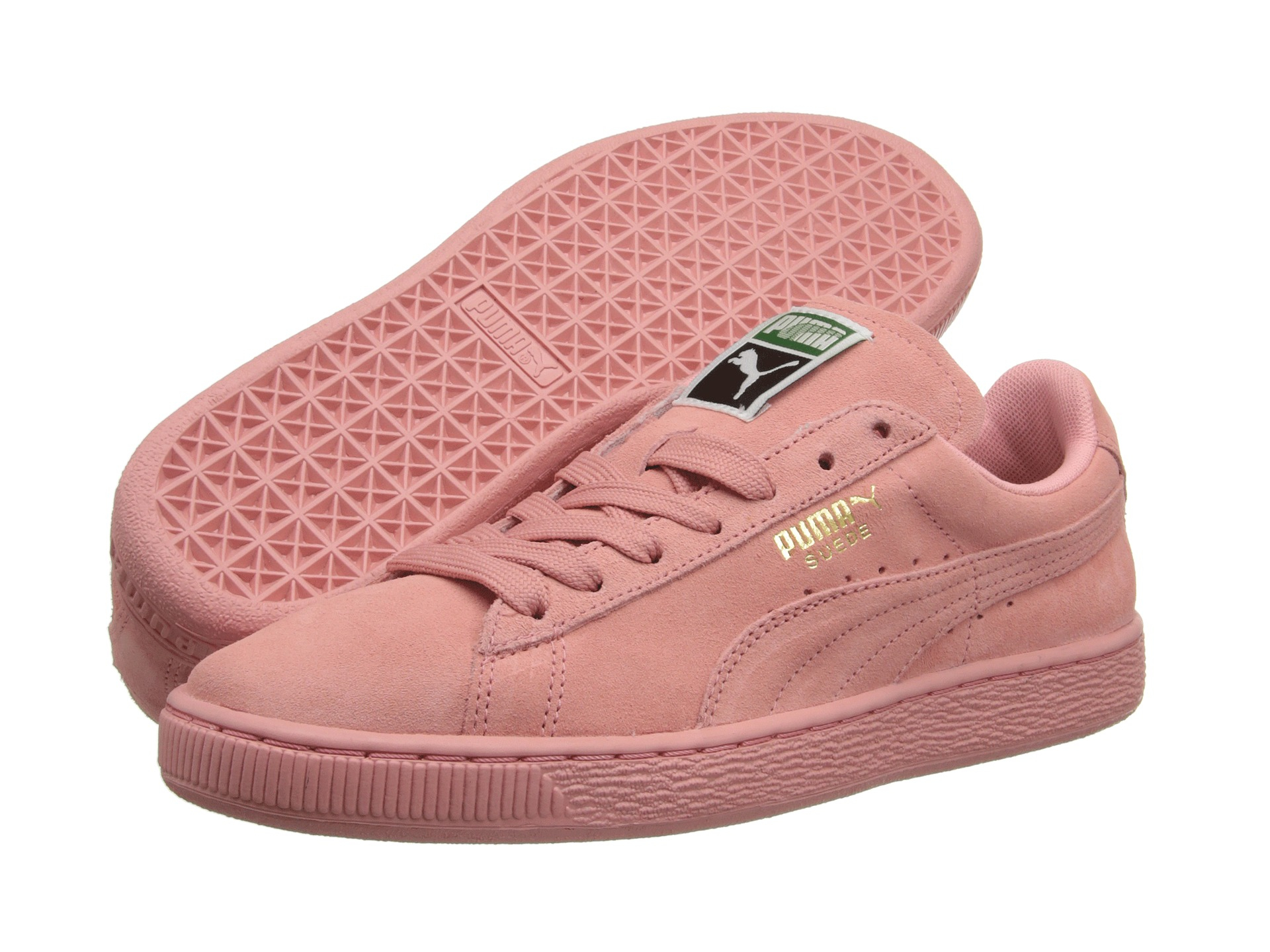 lyst puma suede classic wns in pink. Black Bedroom Furniture Sets. Home Design Ideas