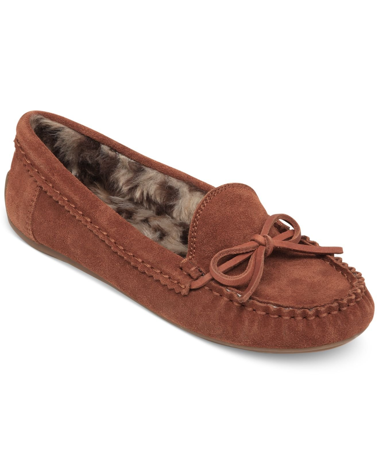 09f11156a3e Lyst - Lucky Brand Women S Aligabe Faux-Fur Moccasins in Brown for Men