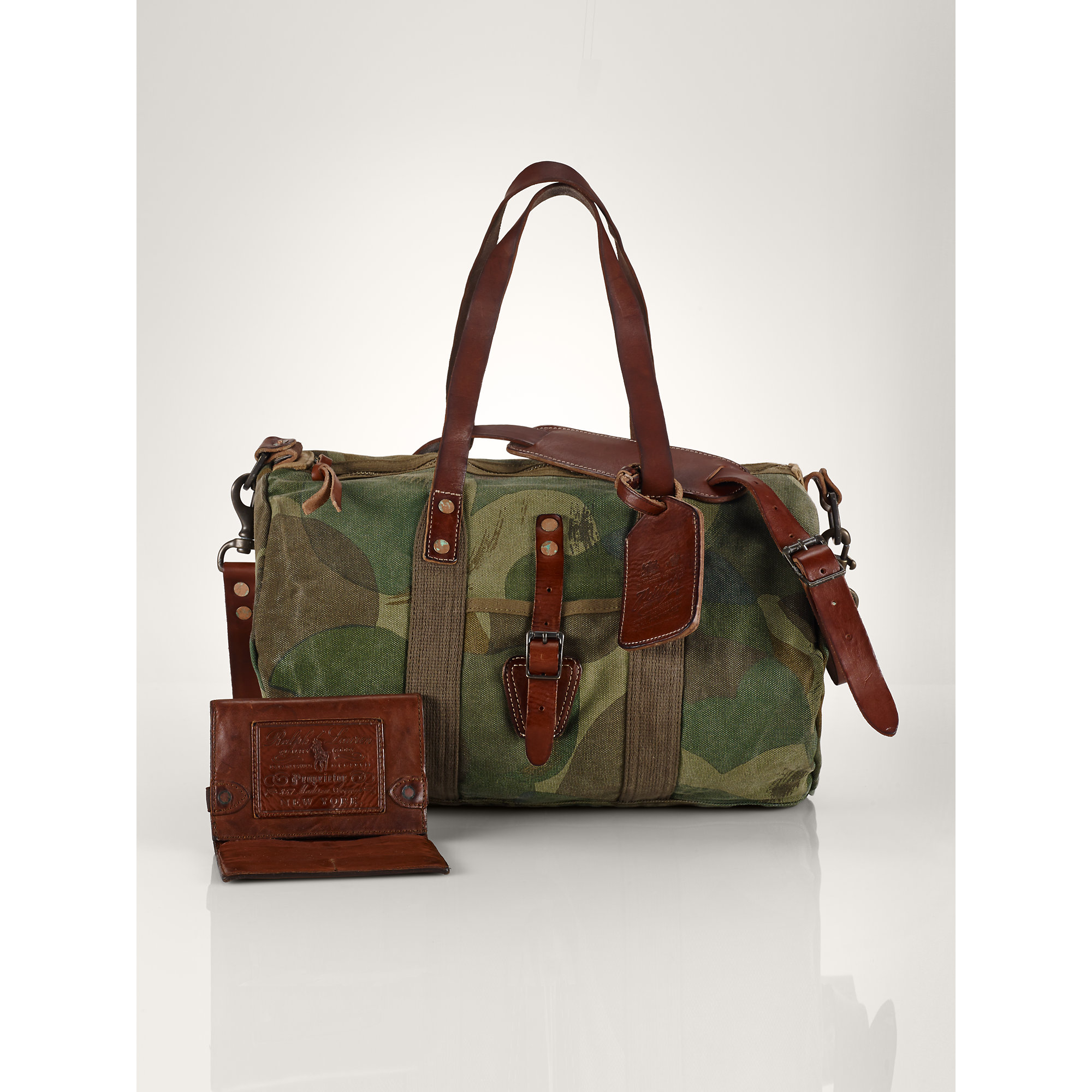 86dc58430060 Polo Ralph Lauren Camo Nylon Duffel Bag