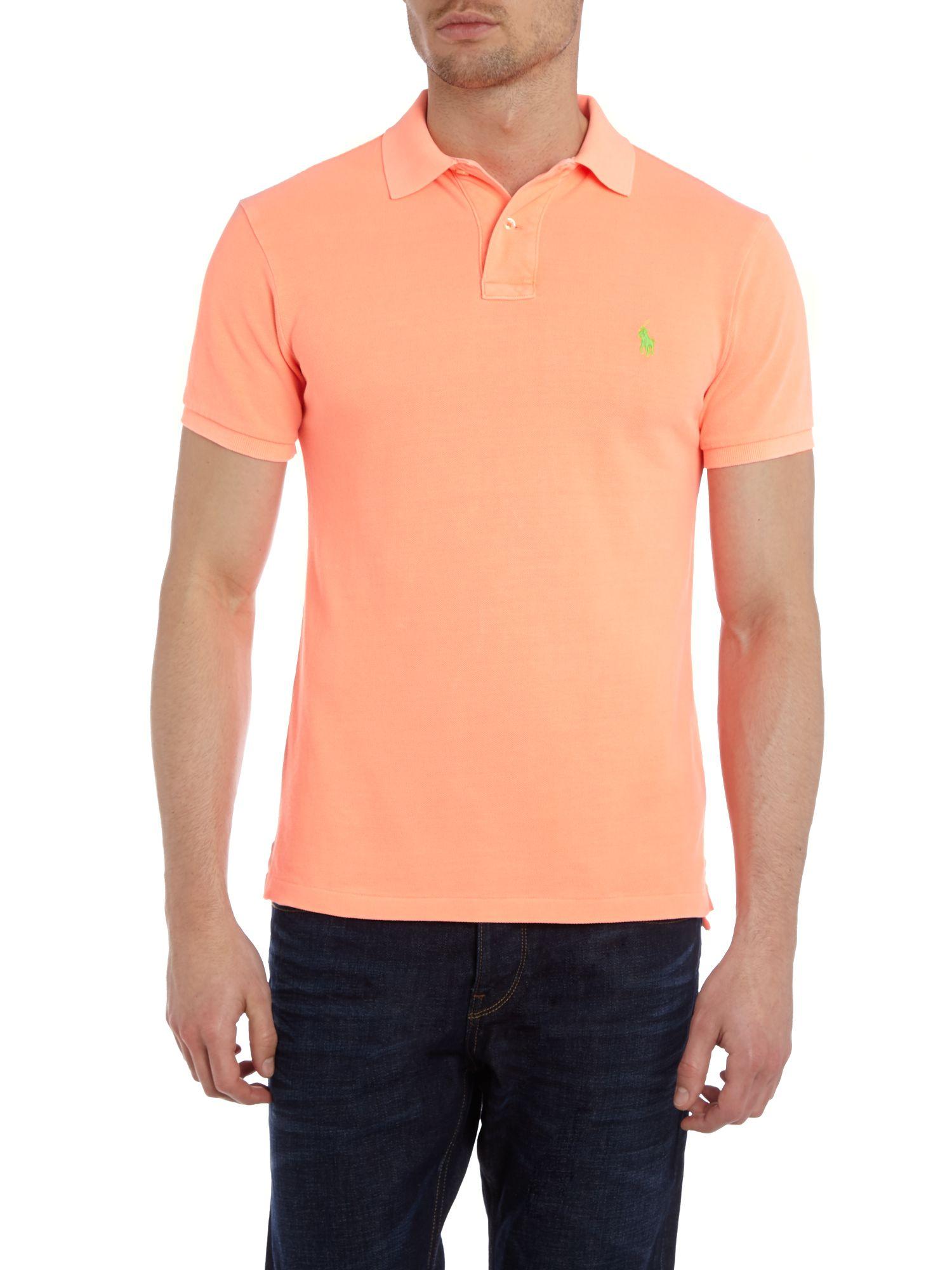 Ralph Lauren Käsilaukku : Polo ralph lauren neon slim fit in orange for men lyst