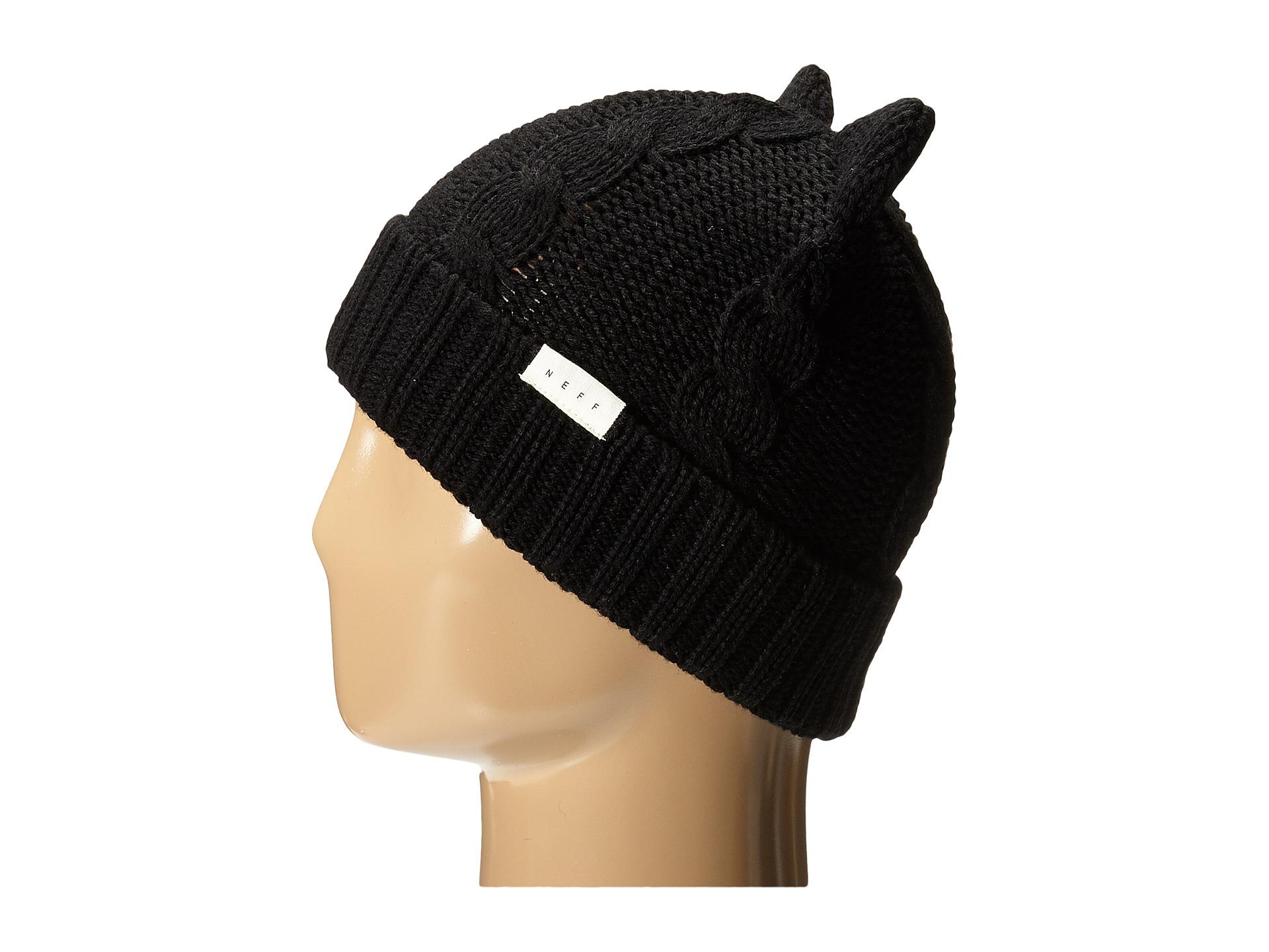 1eb421b2686 Lyst - Neff Kat Beanie in Black for Men