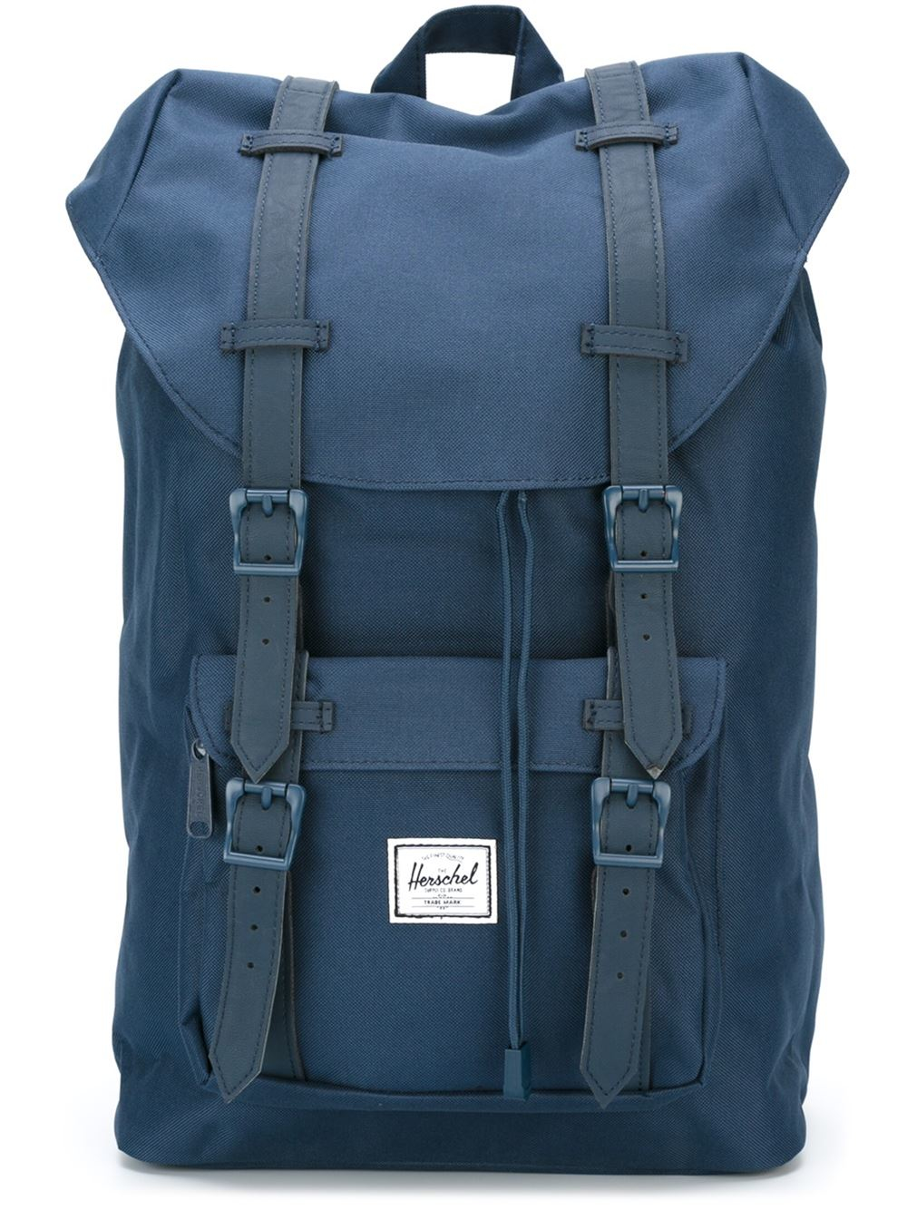 herschel supply co 39 little america 39 backpack in blue for men lyst. Black Bedroom Furniture Sets. Home Design Ideas