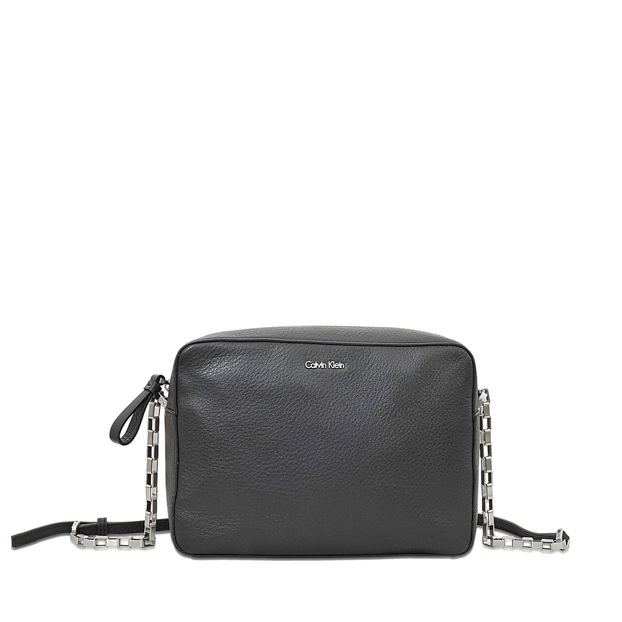 Kleine Crossover-Bag aus Leder Calvin Klein FJ6sNSYnmW