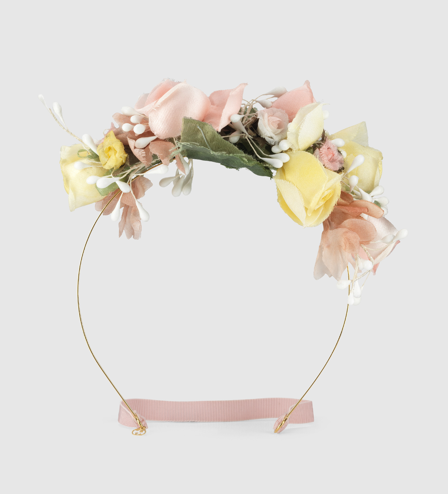Lyst Gucci Flower Hairband In Silk