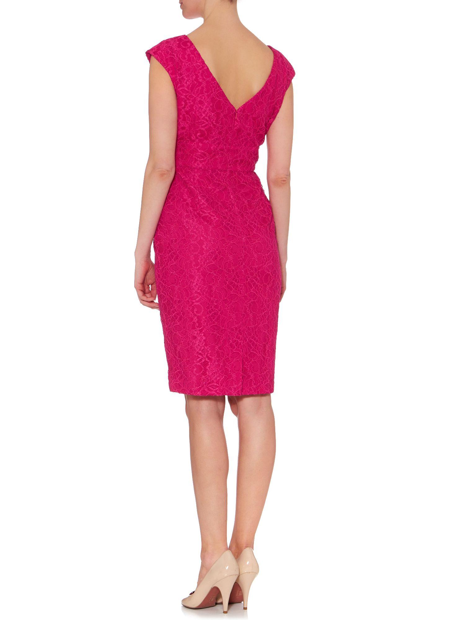 Ariella lace shift dress