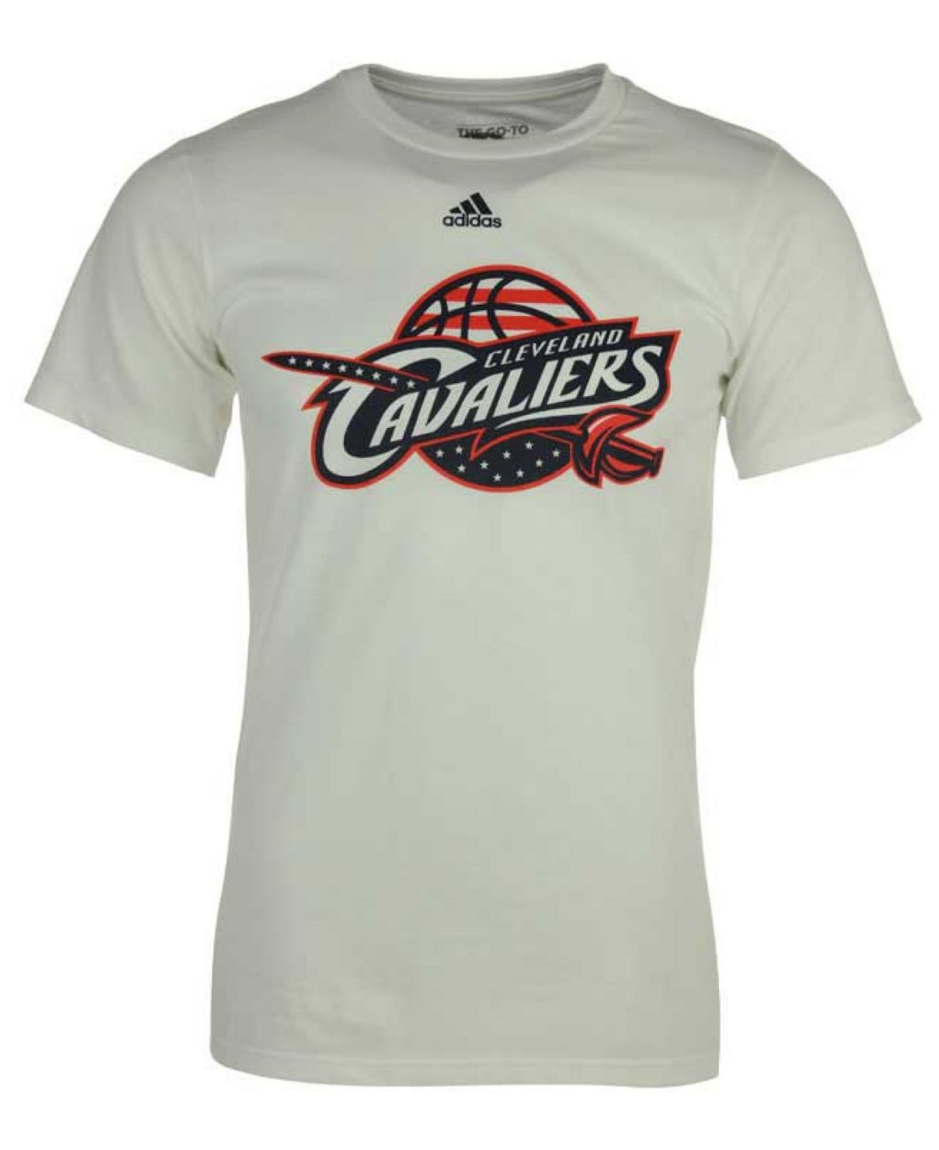 promo code 7b5a5 f5e9d Lyst - adidas Originals Men s Cleveland Cavaliers Hoops For Troops T ...