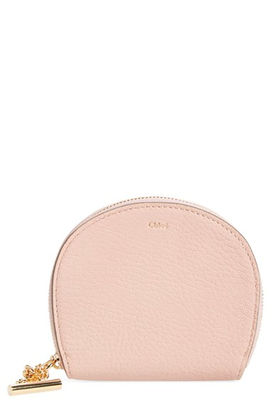 chloe handbags online - Chlo�� 'drew' Lambskin Leather Coin Purse in Pink (CEMENT PINK)   Lyst