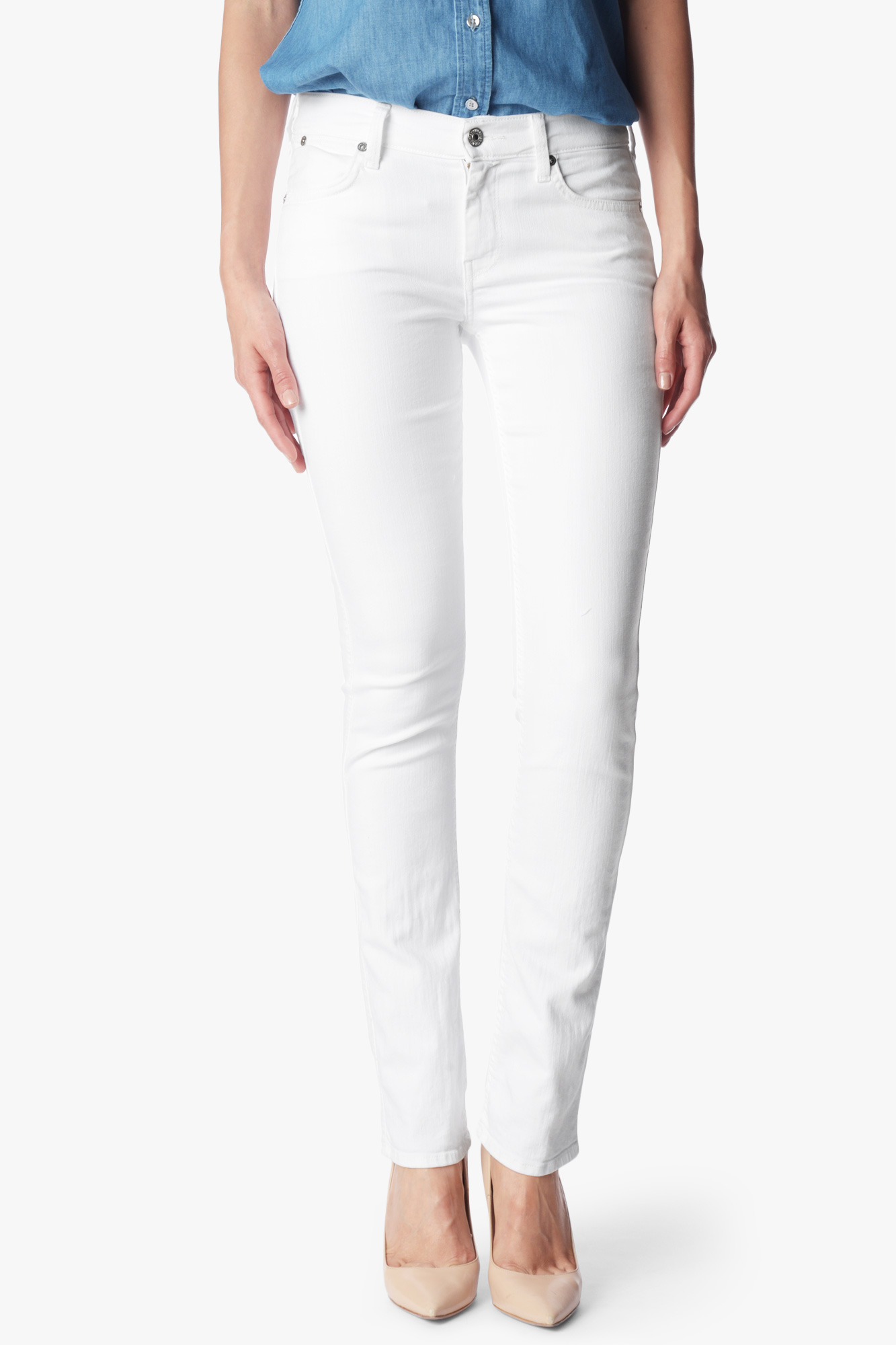 7 for all mankind the modern straight in clean white in for How to clean white dress shirts