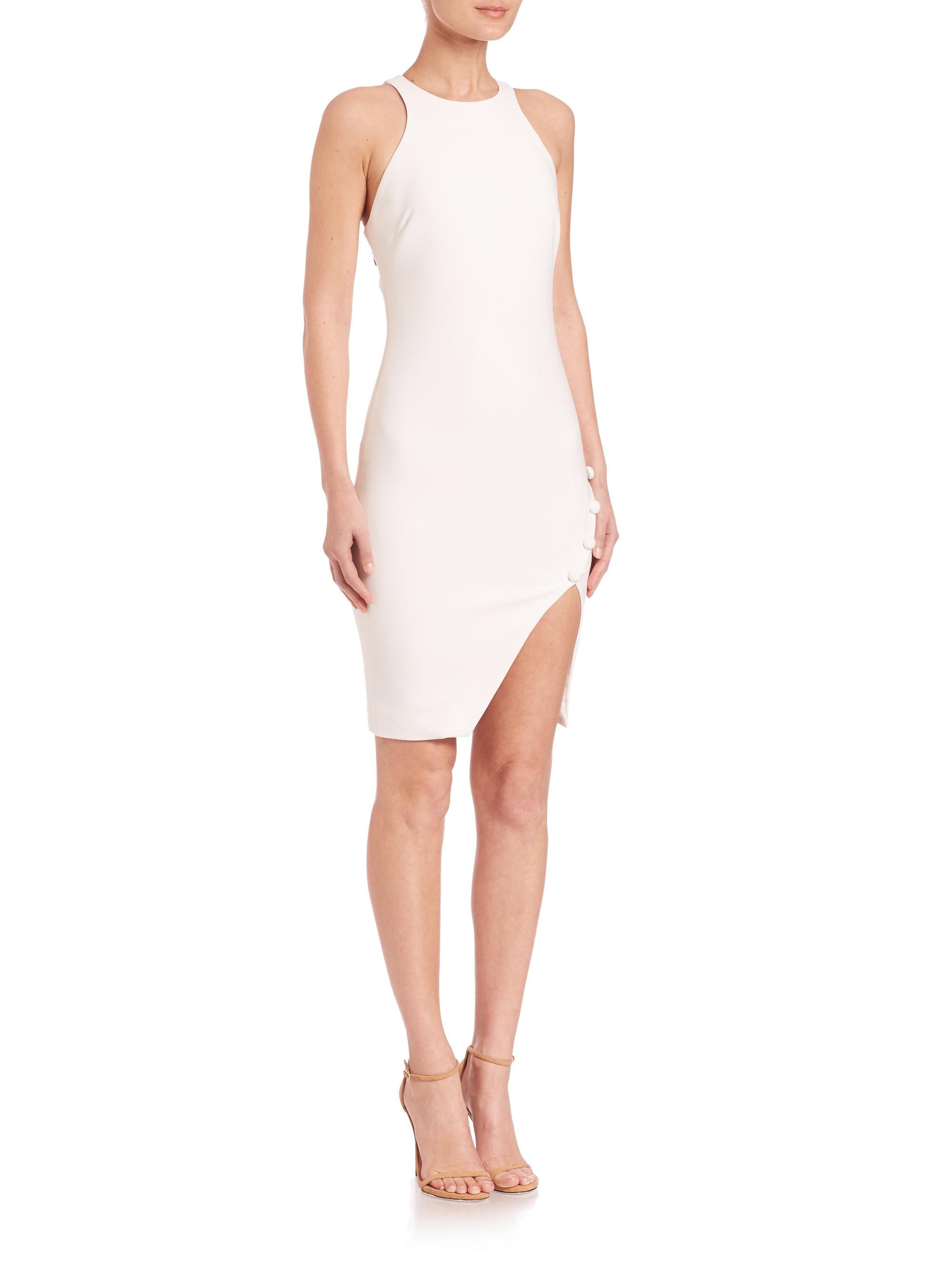 lyst elizabeth and james sophia dress in white. Black Bedroom Furniture Sets. Home Design Ideas
