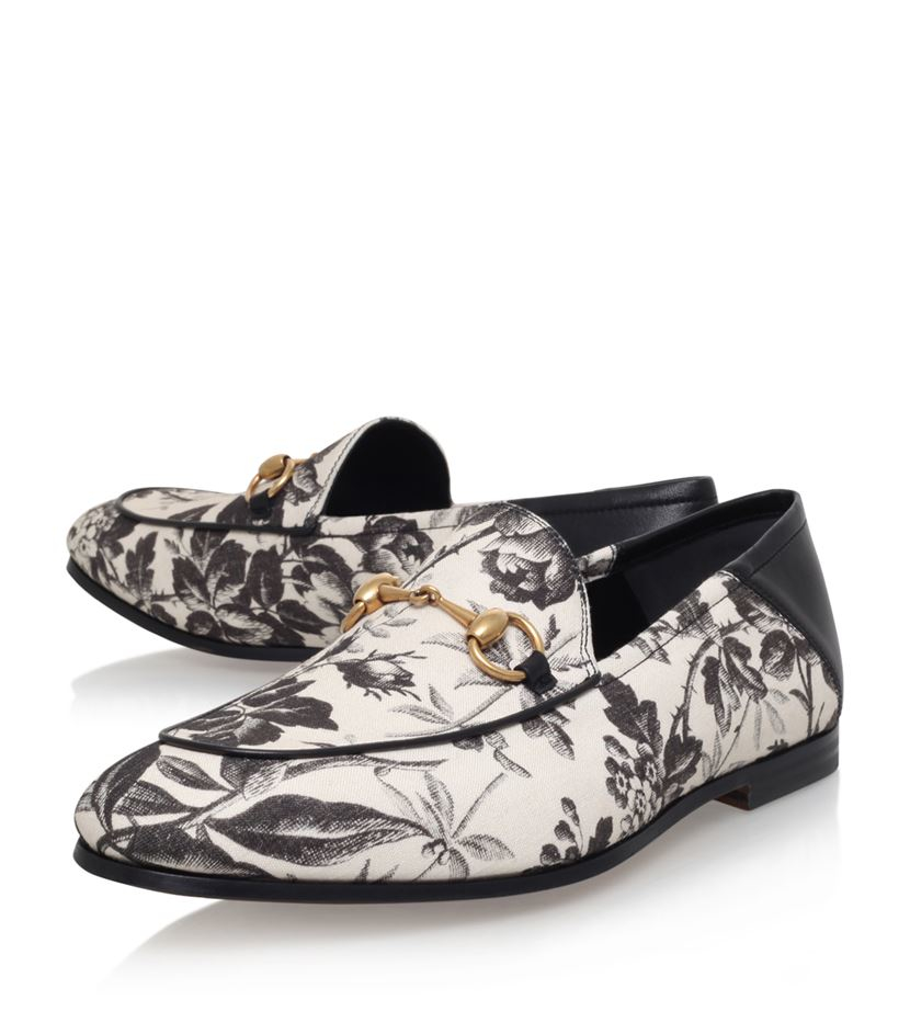 Gucci Brixton Floral Loafer for Men - Lyst add485476