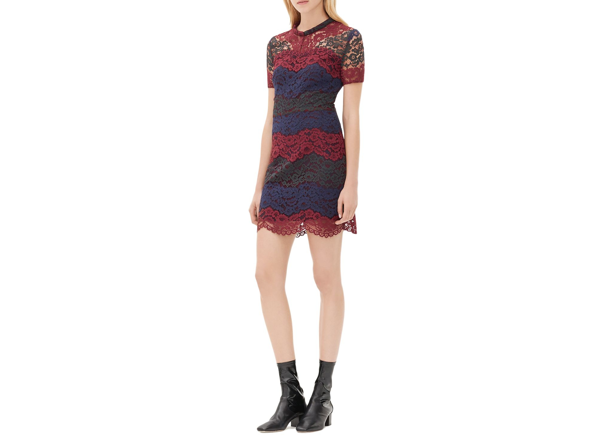 Multi Colored Lace Dresses