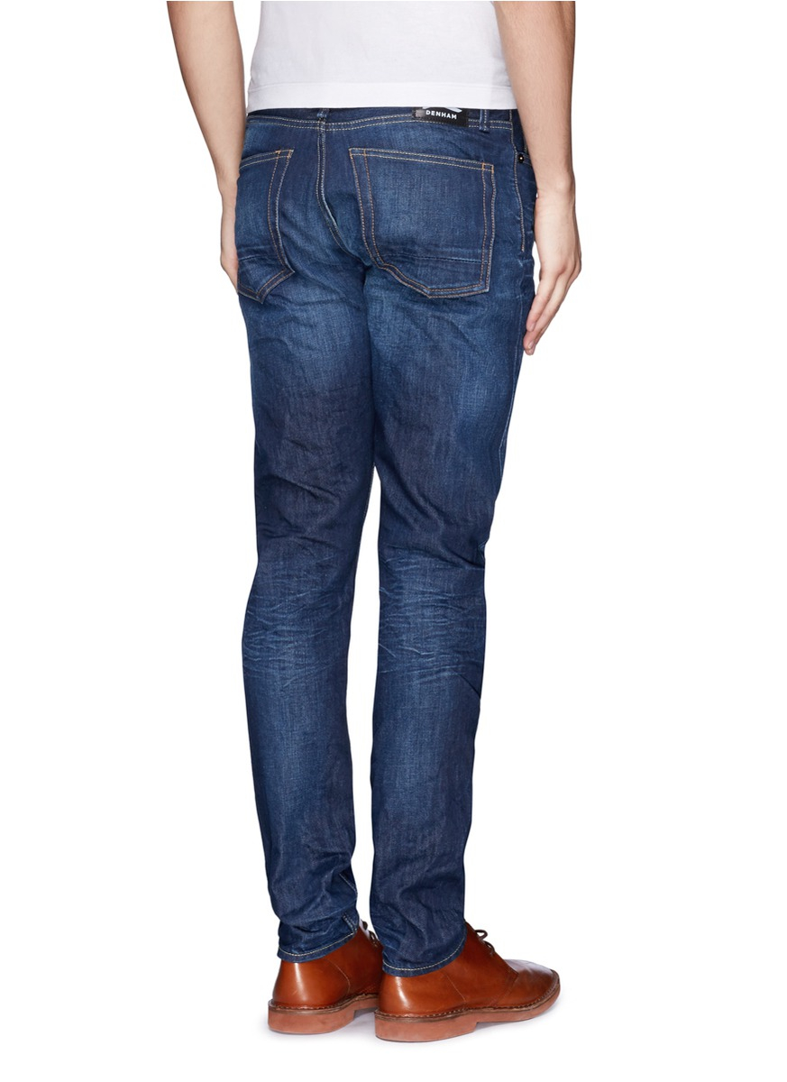 Lyst Denham Razor Slim Fit Jeans In Blue For Men