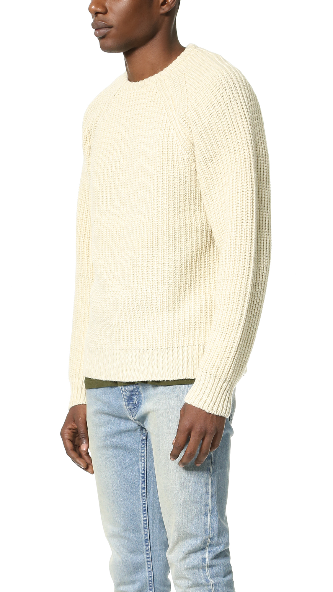 Obey Mitte Sweater in Natural for Men | Lyst