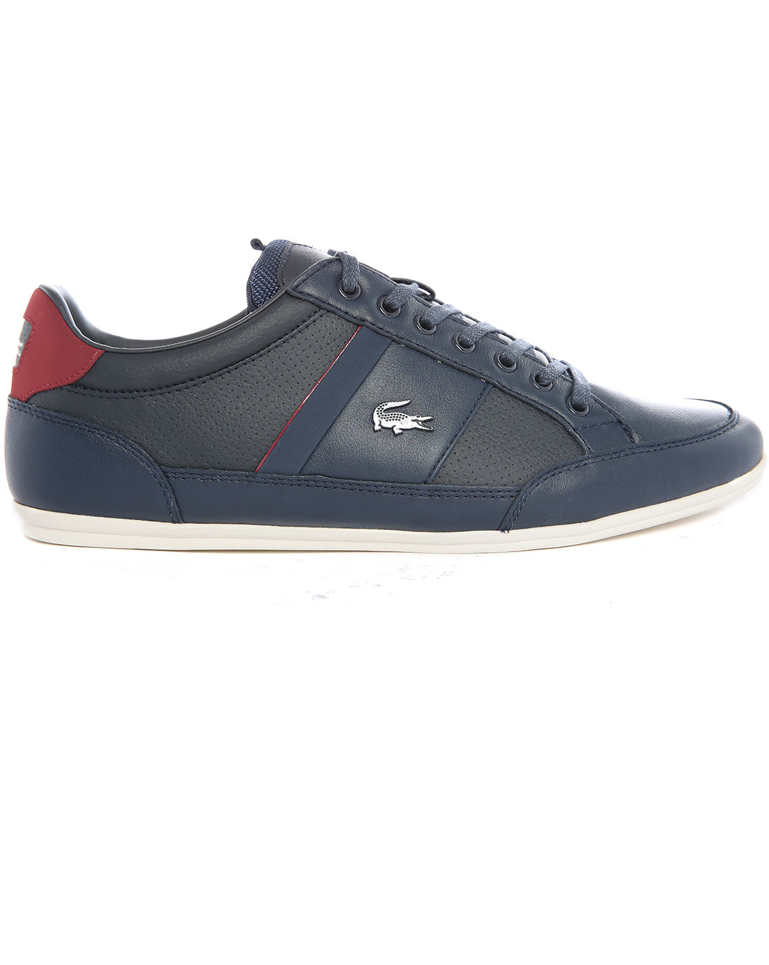 lacoste shaymon sport blue sneakers in blue for men lyst