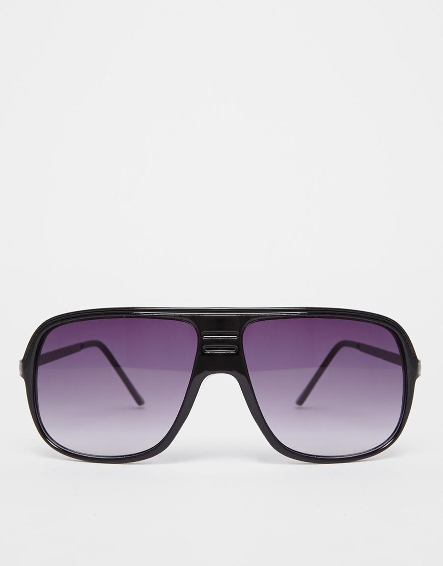 86e51993ed Jack   jones Visor Sunglasses in Black for Men