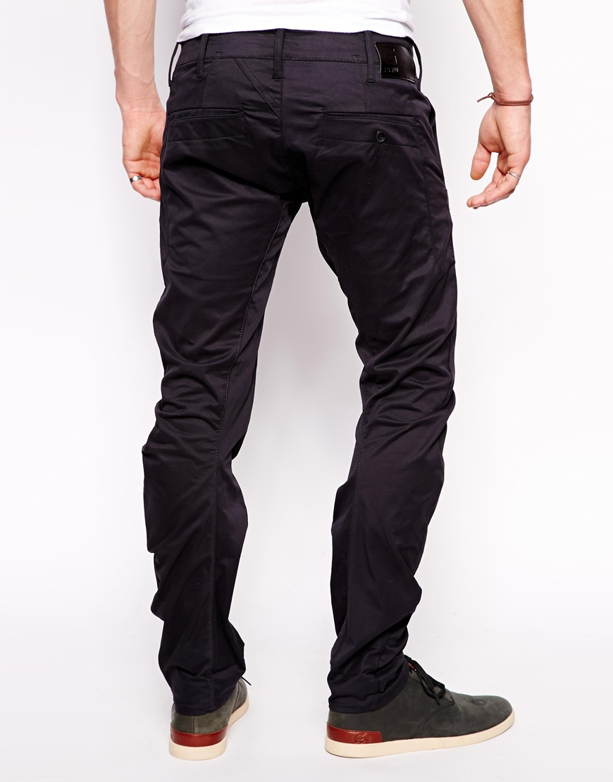 862ac187d40 G-Star RAW Chinos Correct Bronson 3d Slim Fit Twill in Blue for Men ...