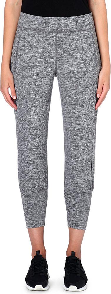 new specials latest fashion temperament shoes Sweaty Betty Garudasana Yoga Jogging Bottoms Pavement Marl ...