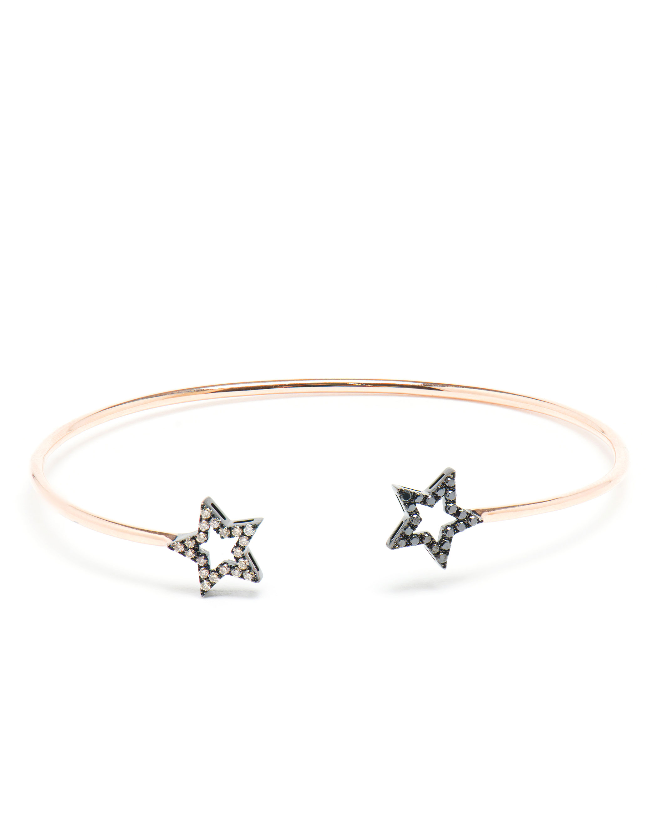 bangle stars diamond flower