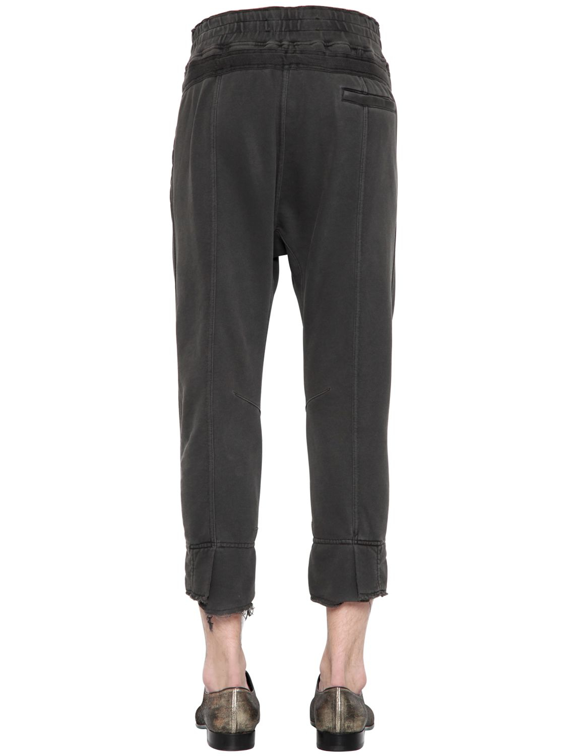 Lyst Haider Ackermann Cotton Jersey Biker Jogging Pants