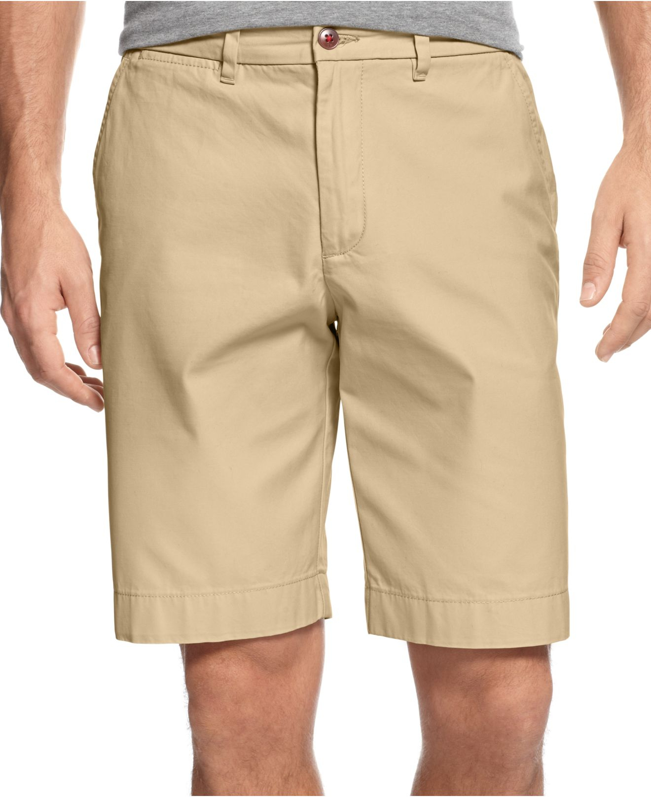 Tommy hilfiger New Academy Chino Shorts in Natural for Men | Lyst