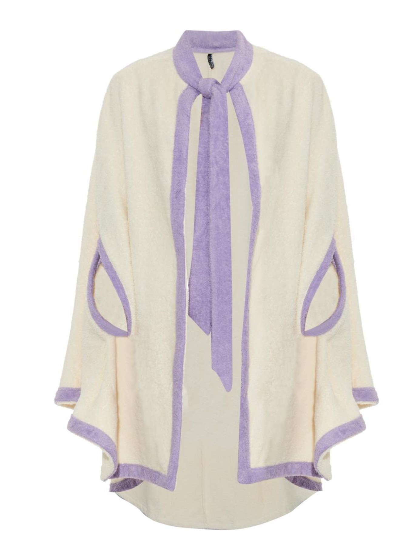f60b0c94b5 Lisa Marie Fernandez Terry-Towelling Beach Cover-Up in Natural - Lyst