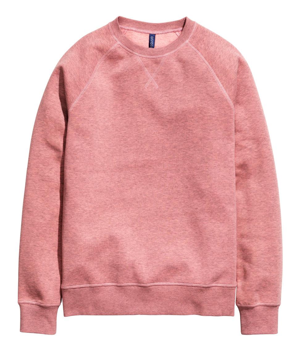 Hm Sweatshirt In Red For Men Lyst