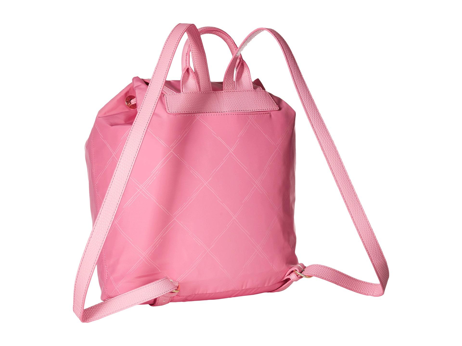 54ccb611b0 Lyst - Vera Bradley Preppy Poly Backpack in Pink
