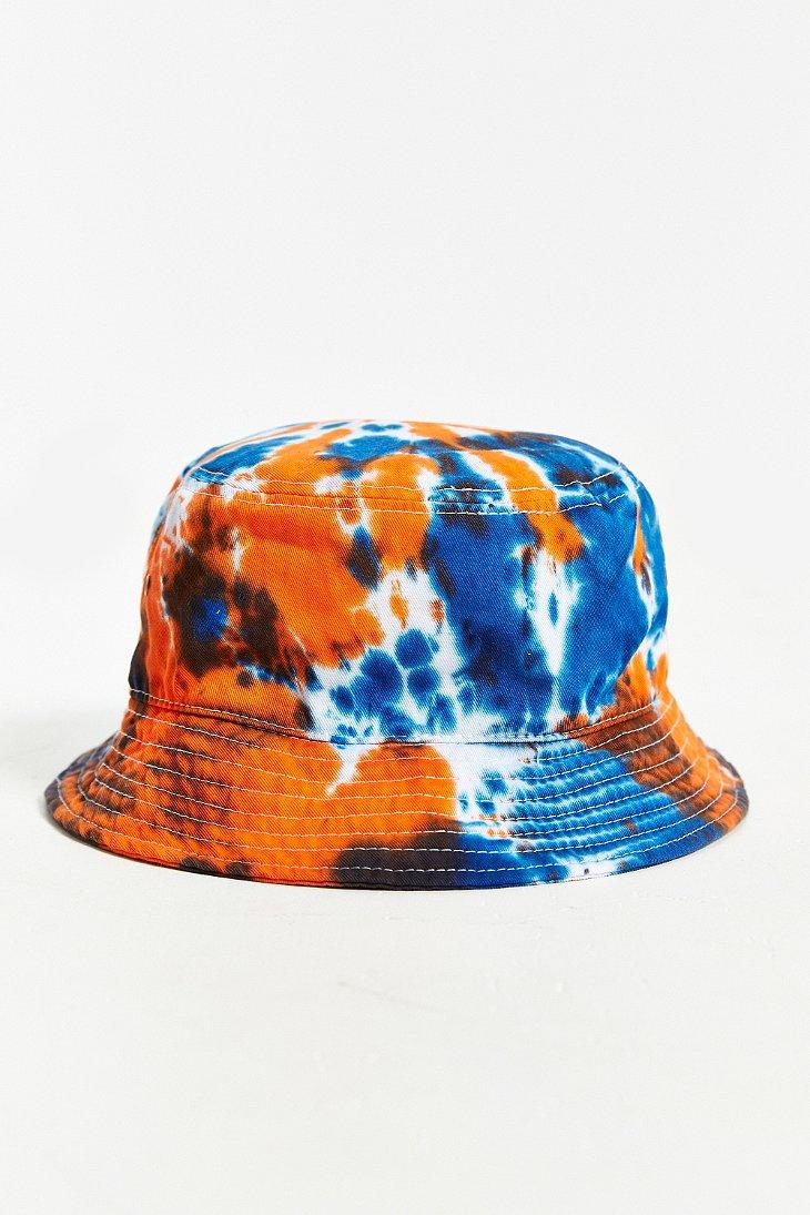 Lyst Milkcrate Athletics Tie Dye Bucket Hat In Red For Men