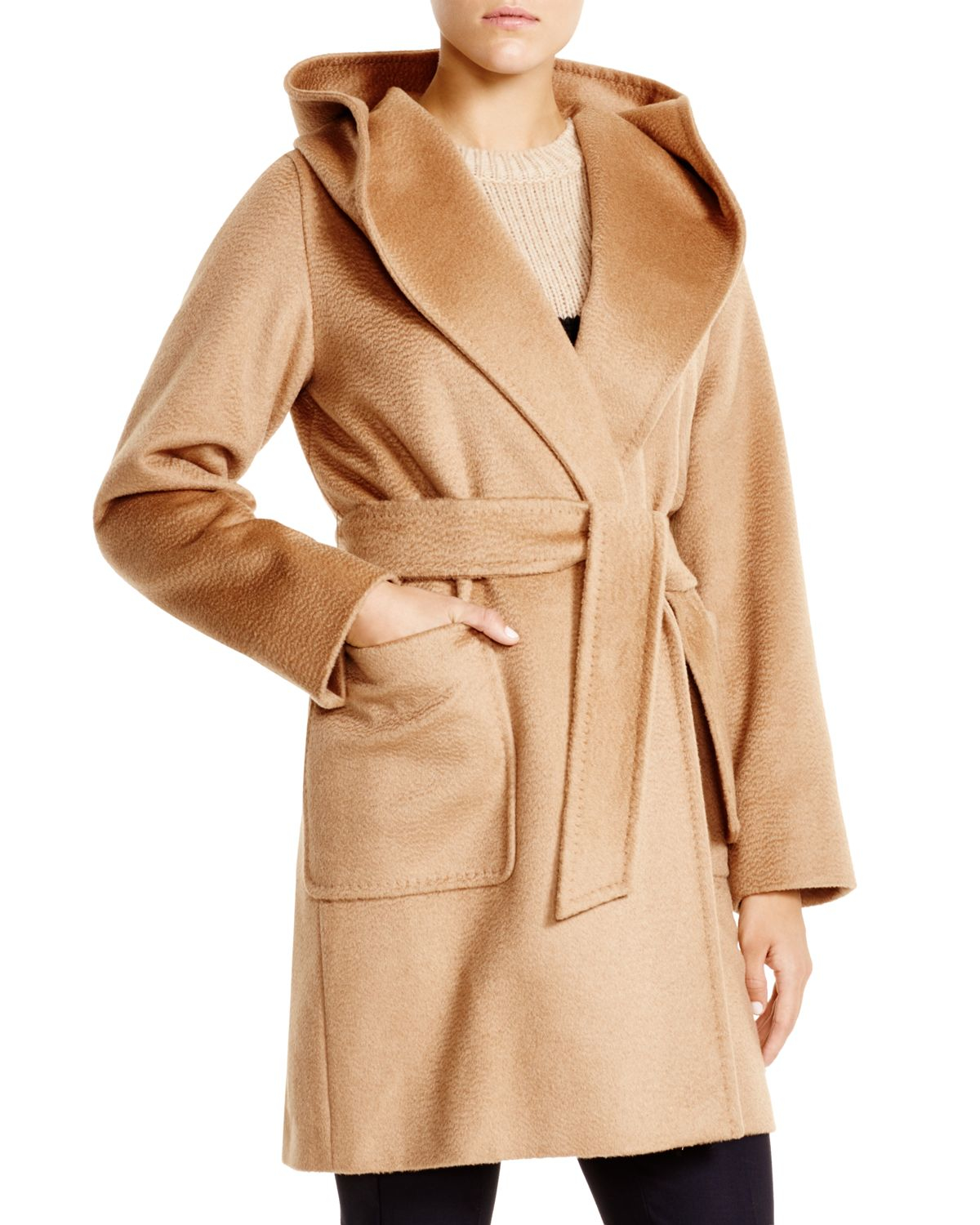 d5562b0e34084 Lyst - Max Mara Rialto Coat in Natural