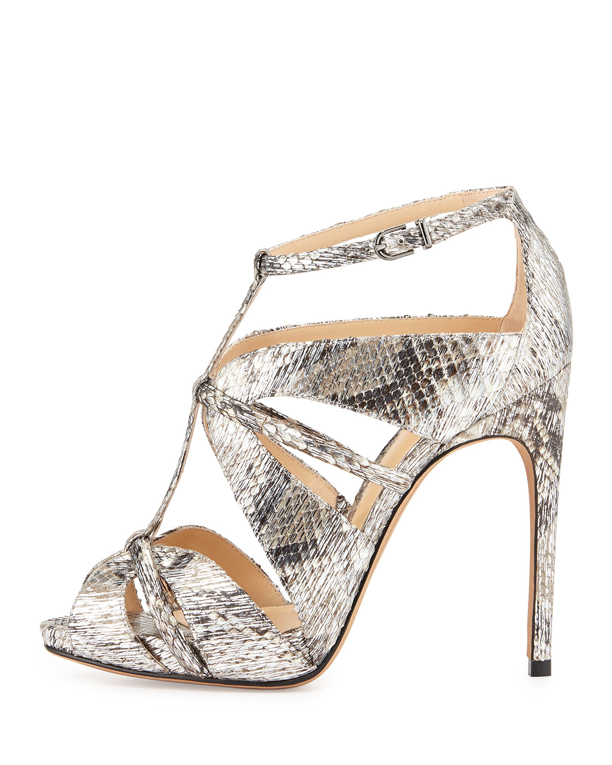 Alexandre Birman Python Caged Sandals cheap best wholesale clearance 2014 new cheap clearance aOmiNu1mbH