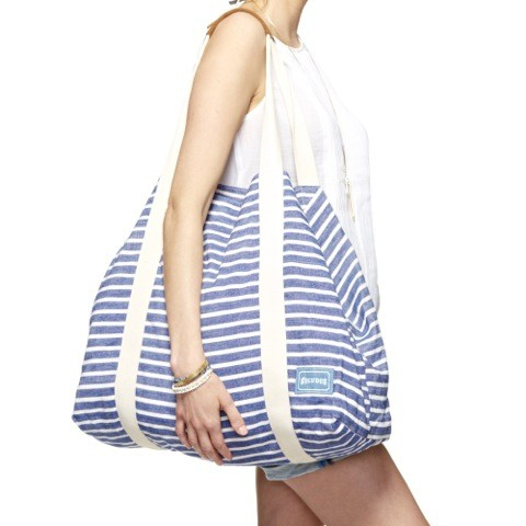 Soludos Big Beach Bag Classic Stripe Lace Up Classic Stripe Sandal ...