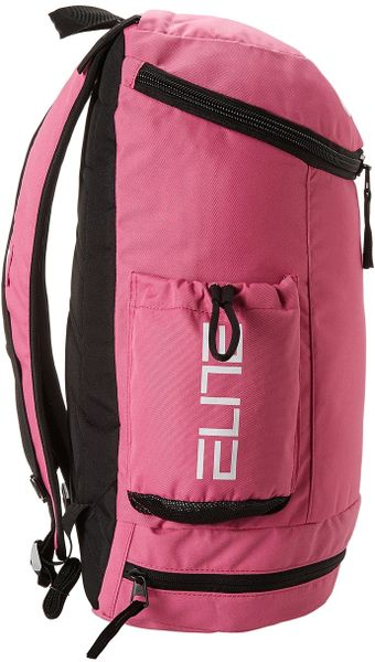 Nike Hoops Elite Team Backpack In Pink Pinkfire Li Black