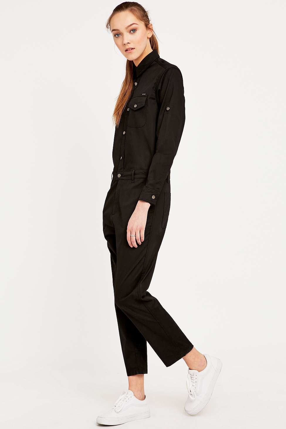 Carhartt Black Jill Boiler Suit In Black Lyst
