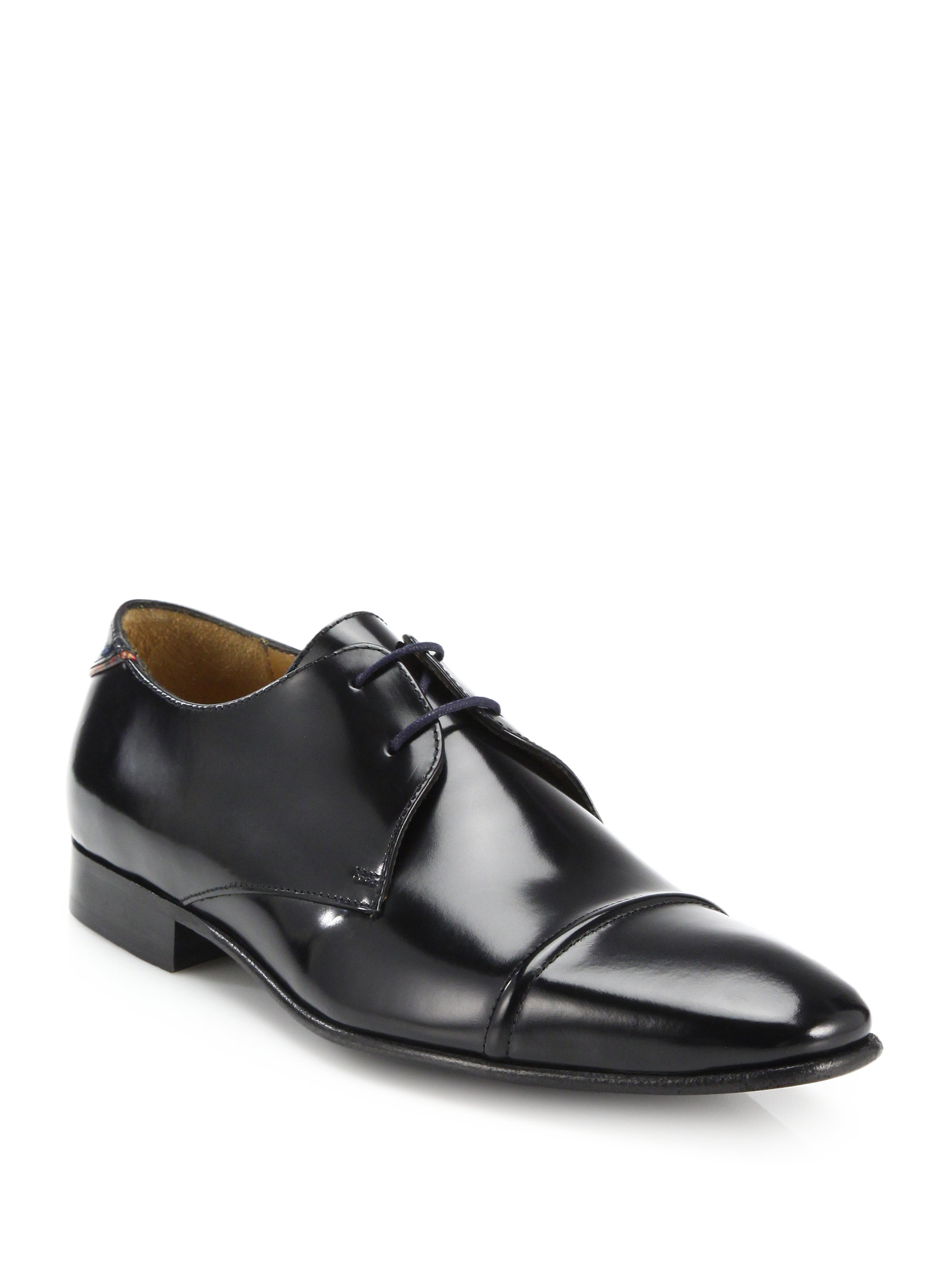 Paul Smith Chester Leather Derby Shoes sale for nice 9Fgbx