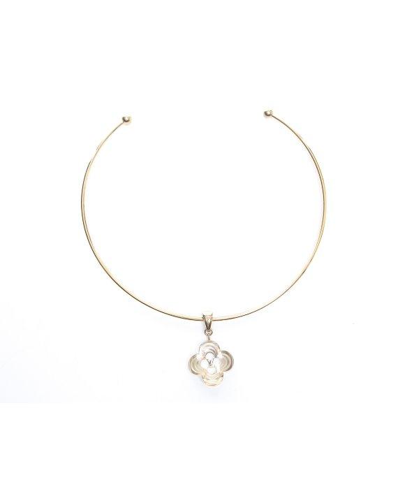 1235afca24db Louis Vuitton Pre-owned Gold A La Folie Choker Necklace in Metallic ...
