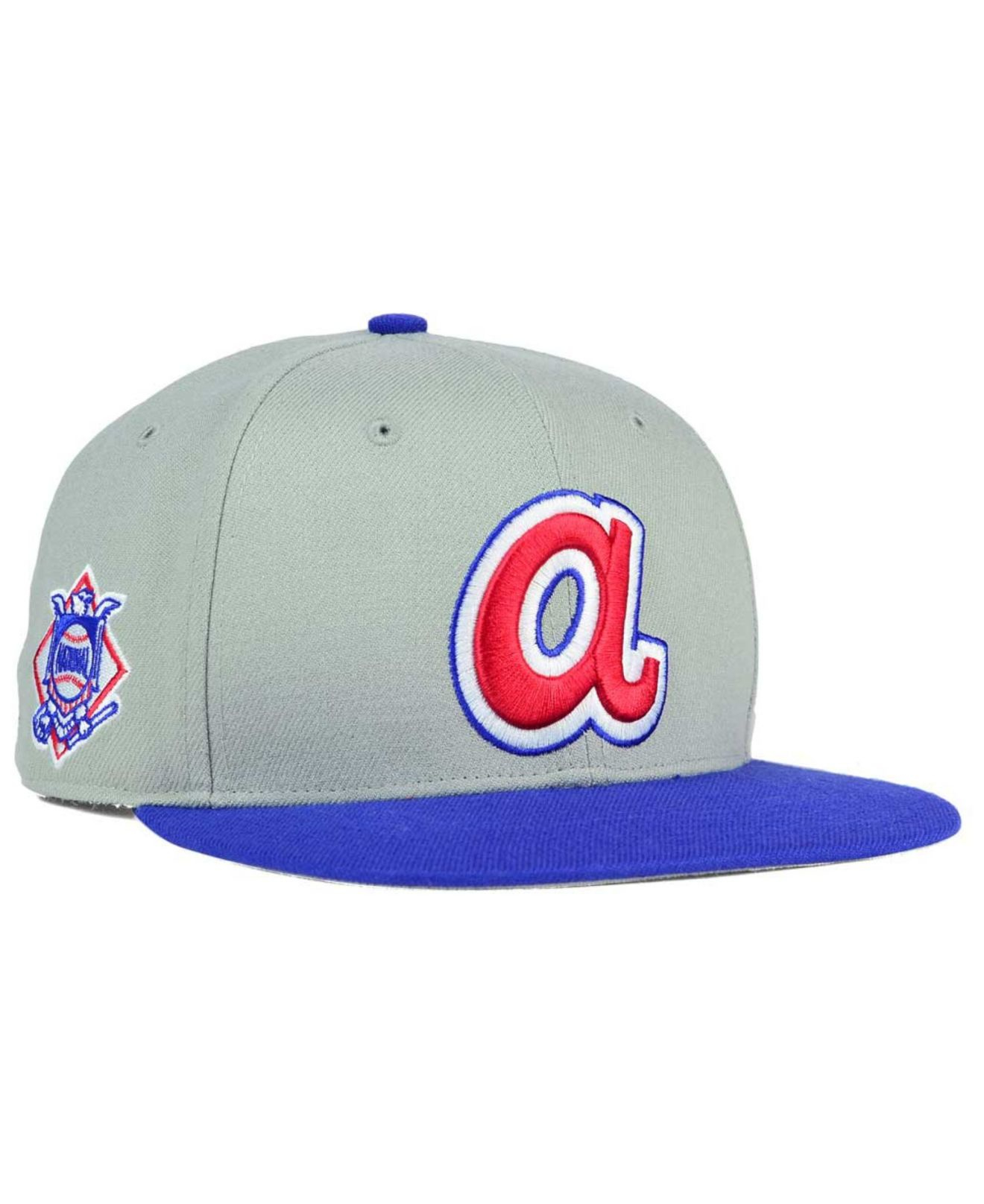 b7d376a095f best price royalblue white blue atlanta braves new era 47 mlb mountain franchise  cap 24cc5 470a1