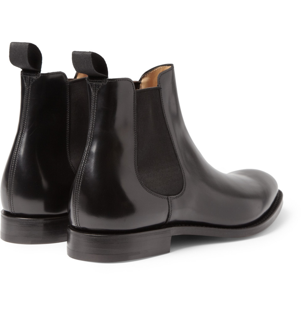 Church S Beijing Leather Chelsea Boots In Black For Men Lyst