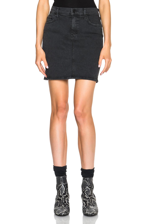 mom up mini skirt