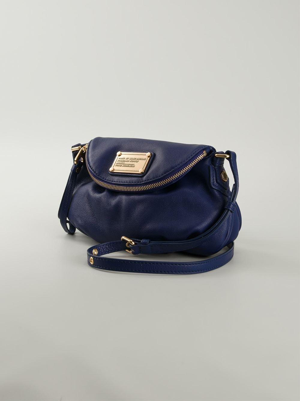 36457383860a Lyst - Marc By Marc Jacobs  Classic Q Mini Natasha  Crossbody Bag in ...