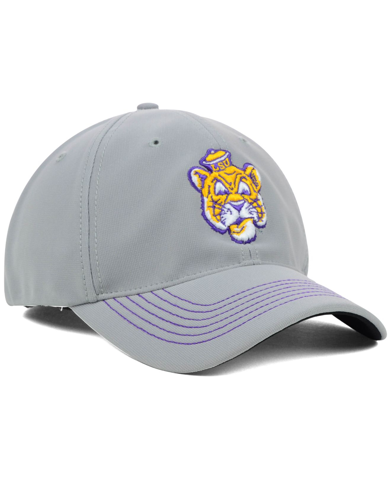41aeb5860a4 ... italy lyst 47 brand lsu tigers game time closer cap in gray for men  8e84f bb82f