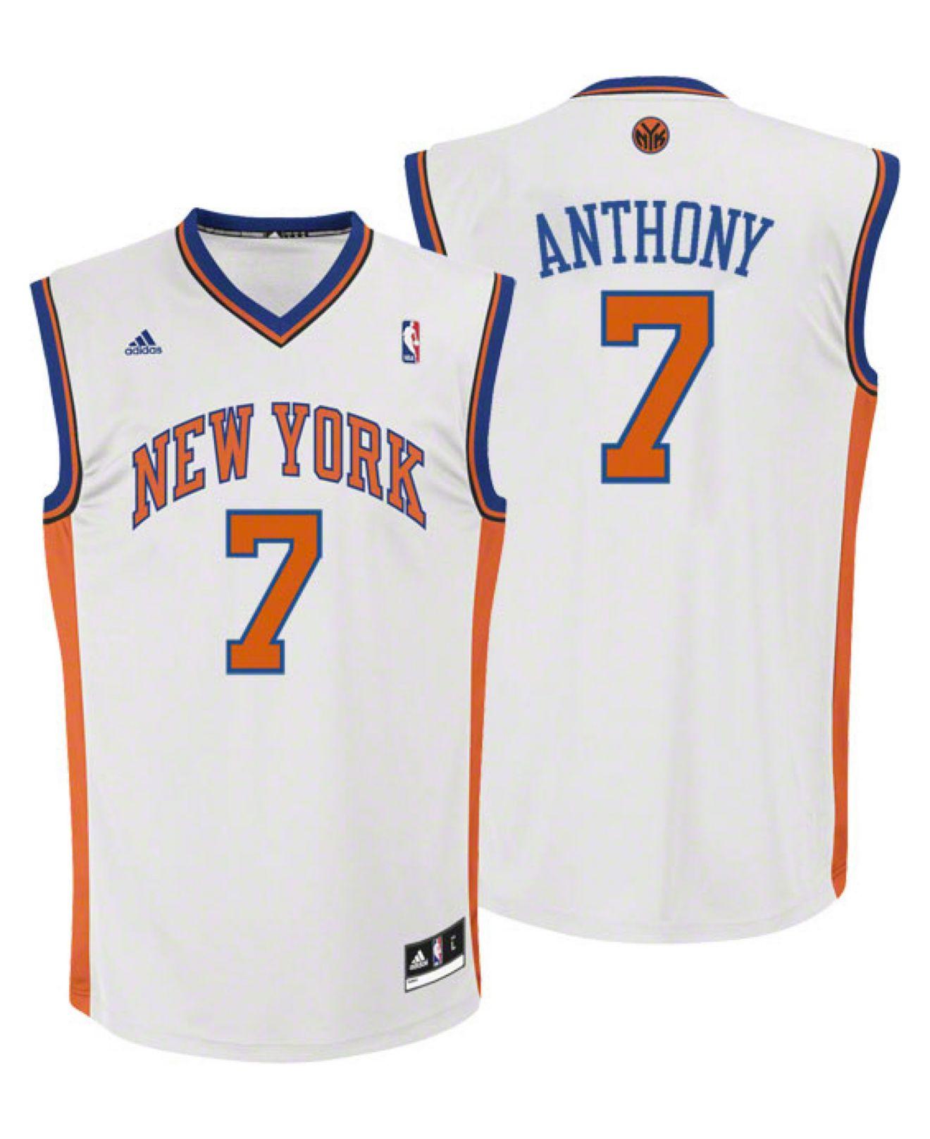 Carmelo Anthony Pistons Jersey: Adidas Kids' Carmelo Anthony New York Knicks