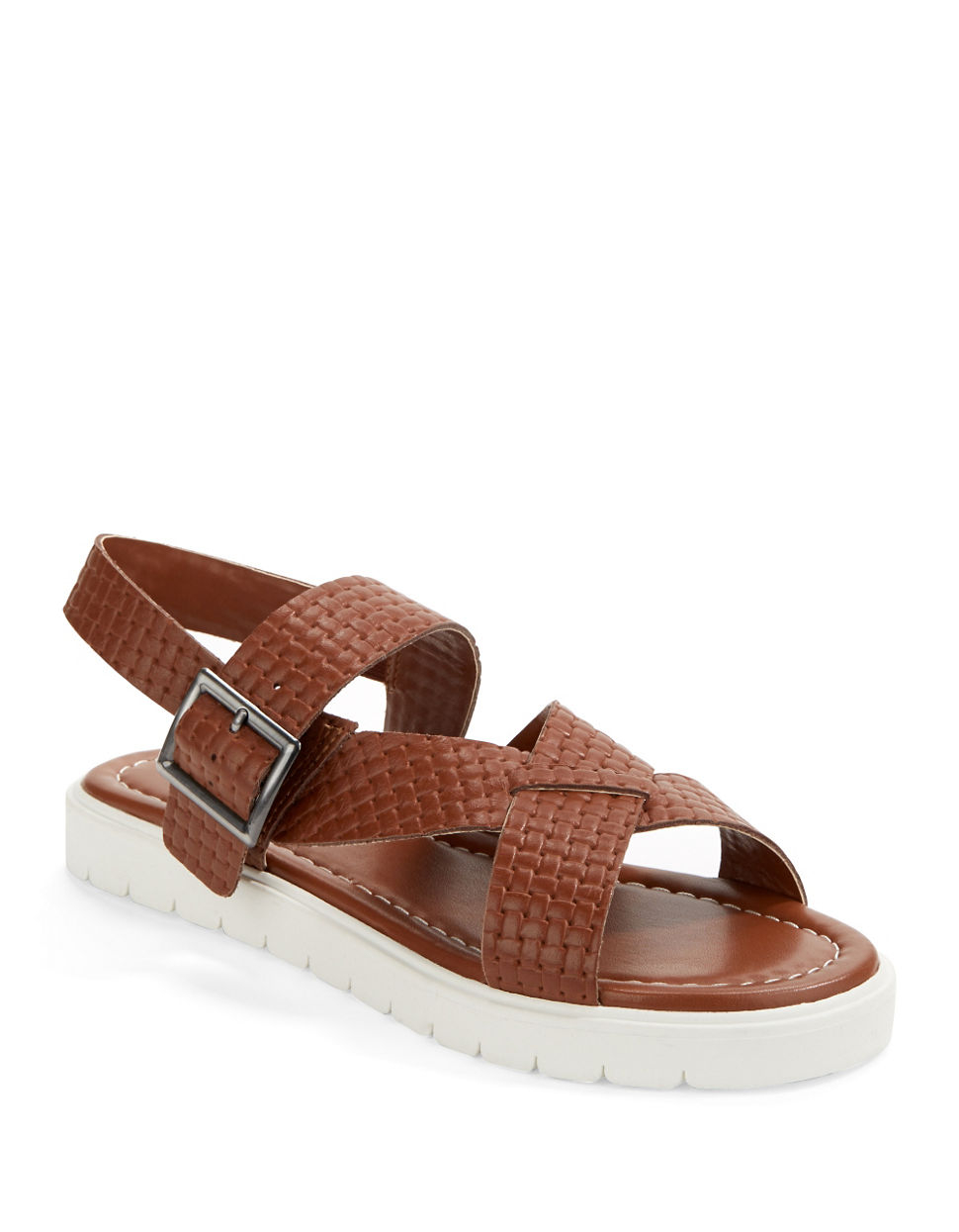 Kelsi Dagger Brooklyn Deedee Flatform Sandals In Brown Lyst