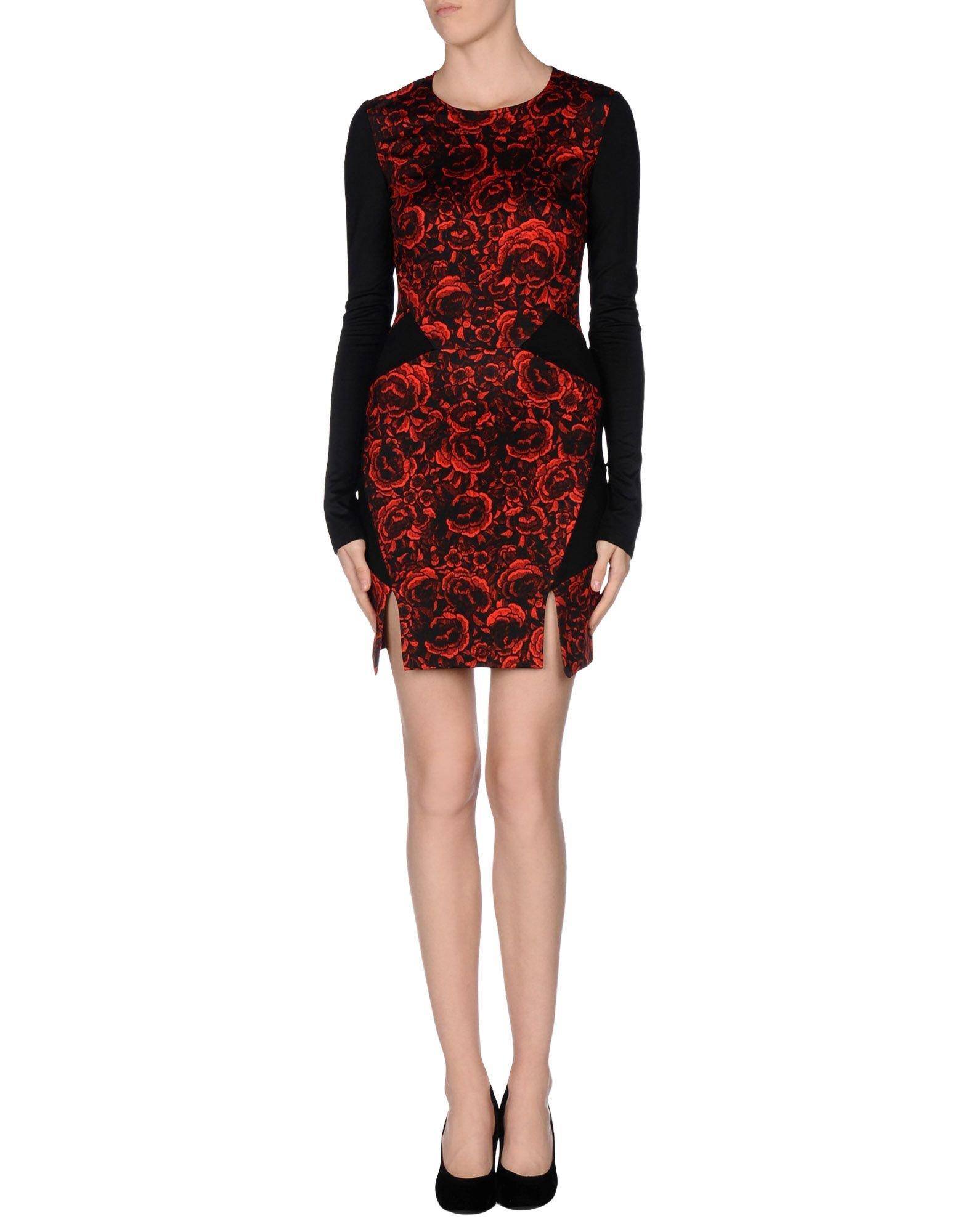 Lyst Just Cavalli Short Dress In Red