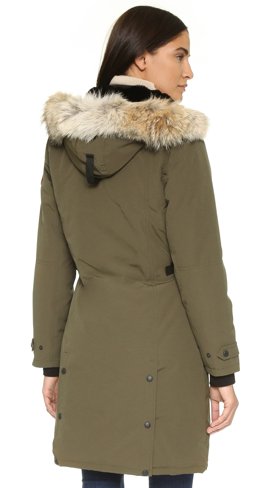 Canada Goose Women's Kensington Parka Coat - amazon.com