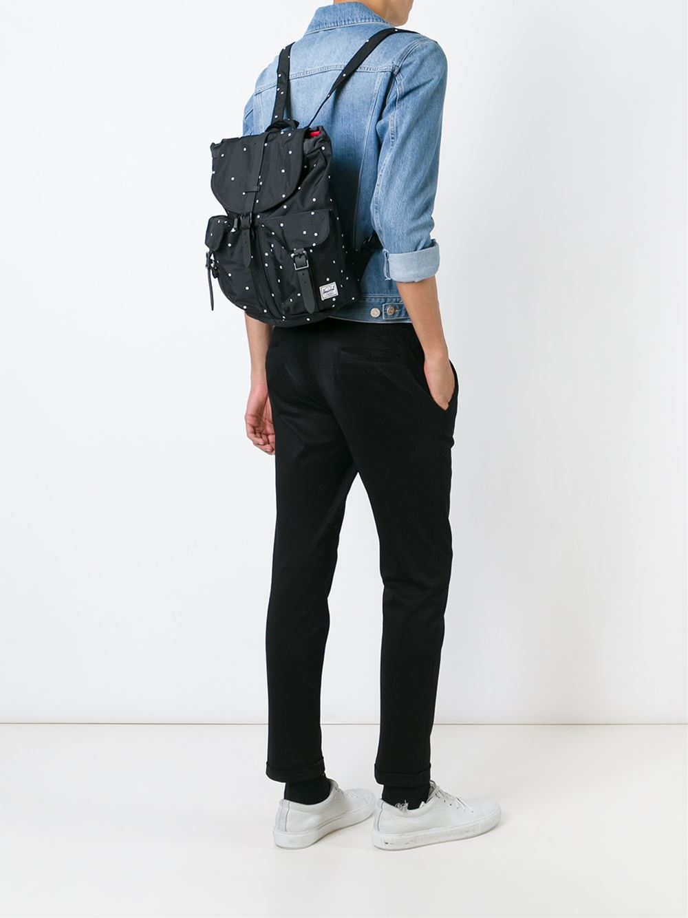 a1de94787394 Lyst - Herschel Supply Co.  dawson  Backpack in Black
